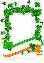 Greeting Card St. Patricks Day Stock Image