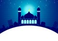 Greeting Card Template Eid and Ramadan