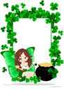 Greeting Card to St. Patricks Day Royalty Free Stock Images