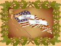Greeting Card-Veteran's Day Royalty Free Stock Photo