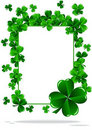 Greeting Cards St Patrick Day Stock Images