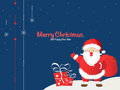 Greeting christmas and new yea year card background Stock Photography