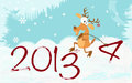 Greeting christmas and new yea year card background Stock Images