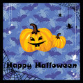 Greeting halloween card Royalty Free Stock Photos