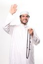 Greeting of Islam Stock Photos