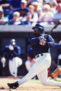 Greg vaughn san diego padres former outfielder image taken from color slide Royalty Free Stock Photo