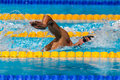 Gregorio paltrinieri italy barcelona august in action during barcelona fina world swimming championships on august in barcelona Stock Photography