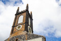 Grenada church old destroyed in st george on Royalty Free Stock Photos