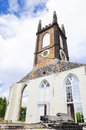 Grenada old destroyed church in st george on Stock Images