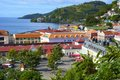 Grenada view - St George town Royalty Free Stock Photo