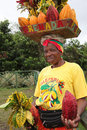 Grenada woman. Stock Images