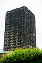 The Grenfell Tower Fire Royalty Free Stock Photo