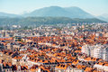 Grenoble city in France Royalty Free Stock Photo
