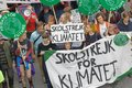 Greta Thunberg and the Global Strike For Future, a demonstration to force the heads of state to make decitions to stop the climate