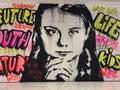 Greta Thunberg Royalty Free Stock Photo
