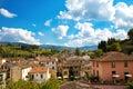 Greve in chianti cityscape of tuscany italy Stock Photos