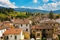 Greve in chianti cityscape of tuscany italy Royalty Free Stock Photo