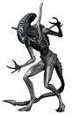 Grey alien creature Royalty Free Stock Photo