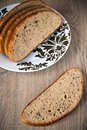 Grey Bread Royalty Free Stock Photography