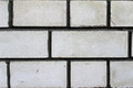 Grey brick close up gray background stone texture Royalty Free Stock Image