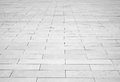 Grey brick stone street road. Light sidewalk Royalty Free Stock Photo