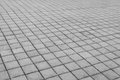 Grey brick stone street road. Light sidewalk, pavement texture Royalty Free Stock Photo