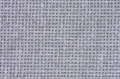 Grey canvas background of textile closeup Royalty Free Stock Image