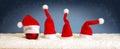 Grey  Christmas Background Wit...
