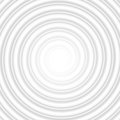 Grey Circle Spiral Striped Abstract Tunnel. EPS 10 vector