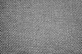 Grey cloth texture seamless of and white blocked canvas Royalty Free Stock Photo