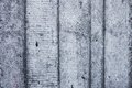 Grey concrete wall with hardened traces of the shuttering moulds Royalty Free Stock Images