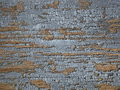 Grey crackled paint on wooden door Royalty Free Stock Image