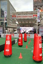 Grey Cup Stage Royalty Free Stock Photo