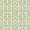 Grey damask pattern Royalty Free Stock Photos