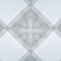 Grey diamond background with deep squares Royalty Free Stock Photo