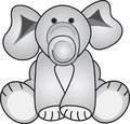 Grey Elephant Royalty Free Stock Photo