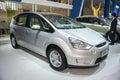 Grey ford max car Royalty Free Stock Photo