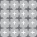 Grey geometric seamless.  illustartion Royalty Free Stock Photo