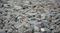 Grey gravel stones closeup background Royalty Free Stock Photo