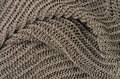 Grey knitted pullover background Royalty Free Stock Photo