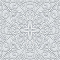 Grey lace pattern abstract background seamless Stock Photos