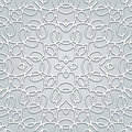 Grey lace pattern background seamless Stock Photo