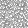 Grey letters background Royalty Free Stock Photography