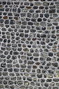 Grey natural stone wall Royalty Free Stock Photo