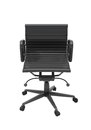 Grey office chair isolated on white background Stock Photo