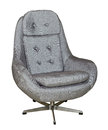 Grey office chair Royalty Free Stock Photo