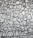 Grey rock wall Stock Images