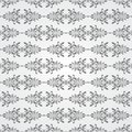 Grey Shades Ornamental Swirl Background Royalty Free Stock Photo