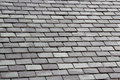 Grey Slate Tile Roof Royalty Free Stock Photo