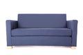Grey sofa isolated on white background modern Royalty Free Stock Images